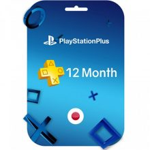 اکانت Playstation Plus یک ساله ژاپن