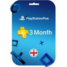 اکانت Playstation Plus سه ماهه انگلستان